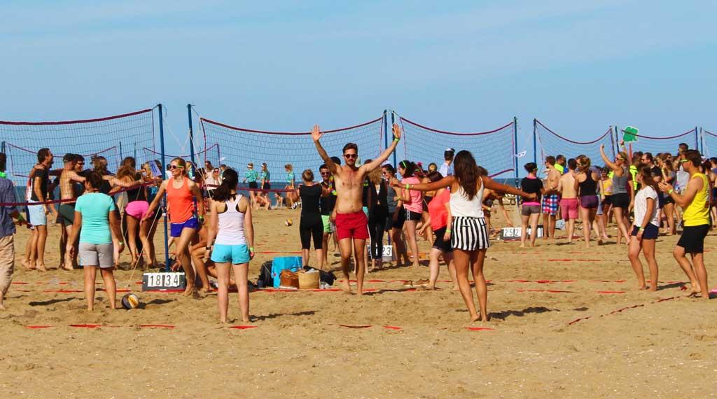 Volleybal-toernooi-scheveningen